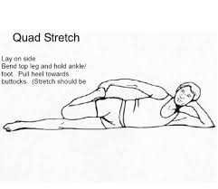 side lie quad stretch